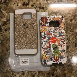 Bundle of 2 Samsung Galaxy S7 phone cases